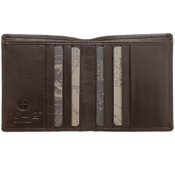 1642 Leather Two Fold Notecase Wallet / Credit Card Holder