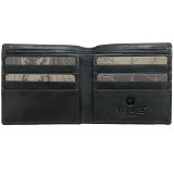 1642 Lichfield Leather Two Fold Notecase Wallet / Credit Card Holder