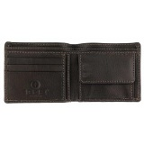 1642 Oregon Two Fold Leather Notecase / Wallet with Coin Pocket