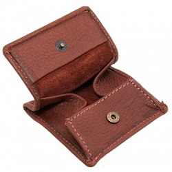 1642 Oregon Classic Leather Coin Pouch