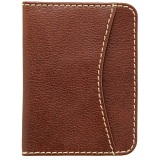 1642 Vachetta Leather Travel Pass / Oyster Card Holder Wallet