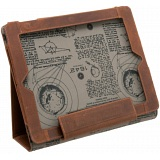 1642 Hunter Leather Apple iPad Case / Folding iPad Stand
