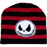 The Nightmare Before Christmas Jack Stripes Winter Beanie / NBX / NBC