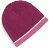 Beechfield Mulberry Pink Heavy Gauge Knitted Winter Beanie Cap