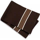 Beechfield Chocolate Brown Knitted Woolen Winter Scarf