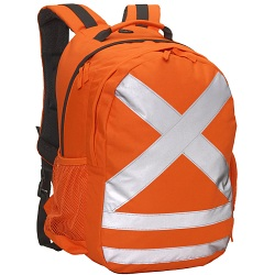 Caribee Calibre Hi Vis Safety Backpack / High Visibility Work Rucksack