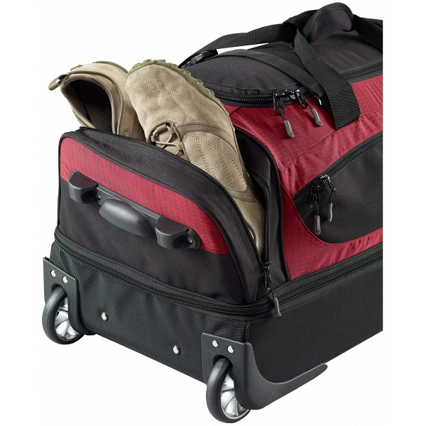 72446204248f ... Caribee Scarecrow DX70 Wheeled Trolley Gear Bag Luggage san francisco  e009c cda31  Chiemsee Travel Bag Rolling Duffle Medium ...