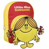 Mr Men Little Miss Sunshine Childrens Bag / Kids Backpack / Rucksack