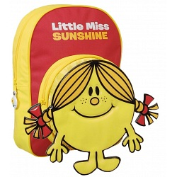 Mr Men Little Miss Sunshine Childrens Bag Kids Backpack