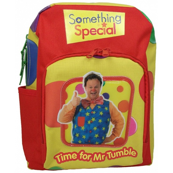 Nursery Mr Tumble Spotty BagWell Done Mr Tumble Toddlers Backpack for School