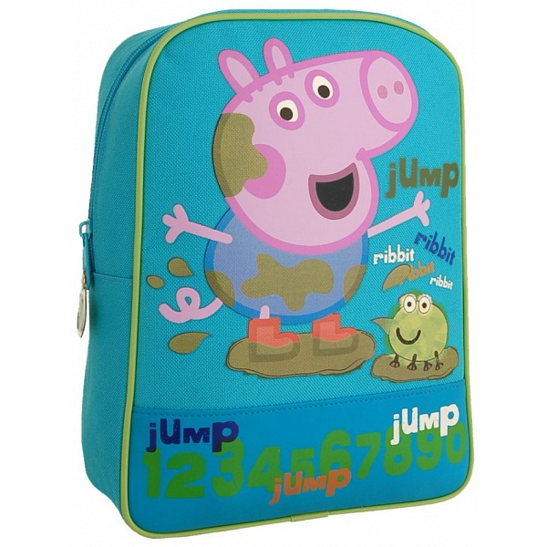 Peppa Pig George Childrens Bag   Kids Blue Backpack   Rucksack 08d787b317781