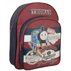 Thomas The Tank Engine Childrens / Kids Red Backpack / Rucksack