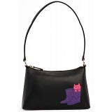 Ciccia Cat Puss In Boots Leather Underarm Shoulder Bag / Handbag
