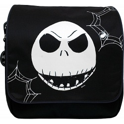 Disney - The Nightmare Before Christmas Flapover Messenger Bag / NBC / NBX