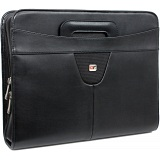 Gino Ferrari Diplomat A4 Zip Around Folio with Drop Handles