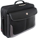 "Gino Ferrari Vega 16"" Clamshell Laptop Case with Rear Compartment"