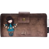 Gorjuss Purse I Found My Family In A Book Large Wallet / Card Holder Purse