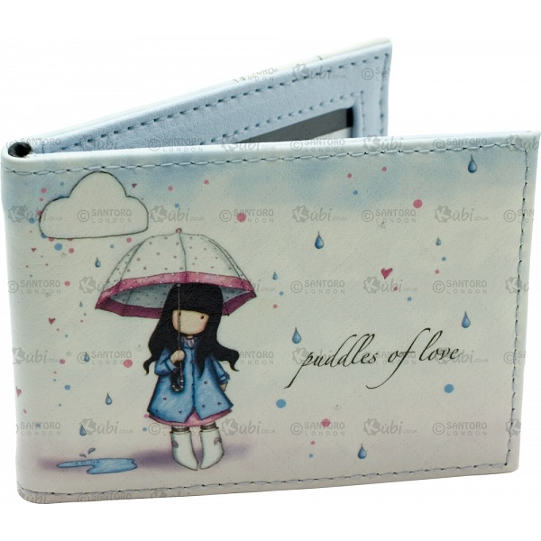 Gorjuss Puddles Of Love Travel Card Holder