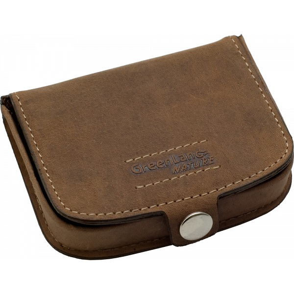 e22d9de51873 GreenLand Nature Leather Coin Tray Wallet / Purse / Pouch