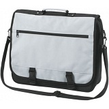 Halfar Business Shoulder Bag / Messenger / Courier Flapover Briefcase