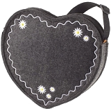 Halfar Heartbreaker Felt Shoulder Bag / Handbag