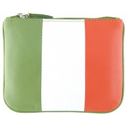 Harness Eire Tricolour Leather Coin Purse