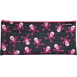 Helix Skulls Fashion Pencil Case / Skull and Crossbones