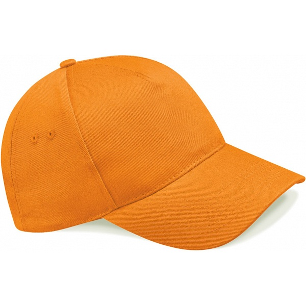 Beechfield Bright Orange Baseball Cap