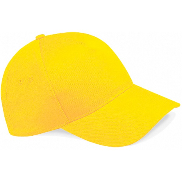 Beechfield Sunflower Yellow Baseball Cap