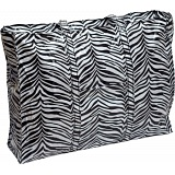 Lindy Lou Zebra Print PVC Showerproof Shoulder Bag / Shopping Tote Bag