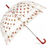 Lindy Lou Cupcakes Windproof Domed Umbrella / Dome Brolly