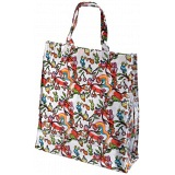 Lindy Lou Psychedelic Woodland PVC Shopping Tote Bag / Shopper