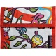 Lindy Lou Whistlestop Psychedelic Woodland Velcro Rip Surf Wallet Red
