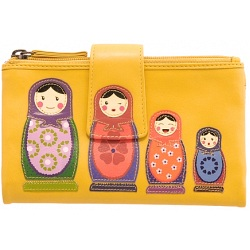 Lyla and Tilly Russian Dolls Picture Purse