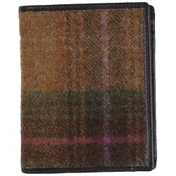 Mala Leather Abertweed Tall Wallet