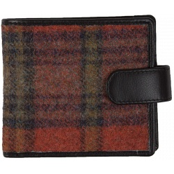 Mala Leather Abertweed Tab Wallet