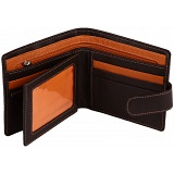 Mala Leather Axis Mens Leather Tab Wallet