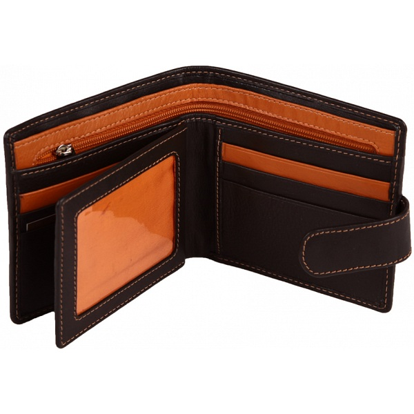 a3f30d5d20a Mala Leather Axis Mens Leather Tab Wallet