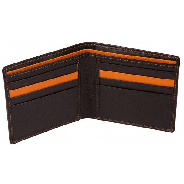 3bbb7380d9c Mala Leather Axis Basic Slim Card Holder Wallet