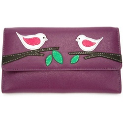 Mala Leather Willow Large Flap Over Purse