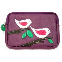 Mala Leather Willow Coin Purse