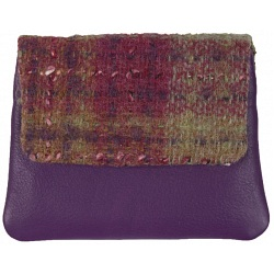 Mala Leather Abertweed Coin Purse