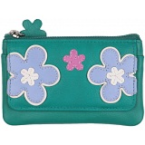 Mala Leather Enya Zip Top Leather Coin Purse