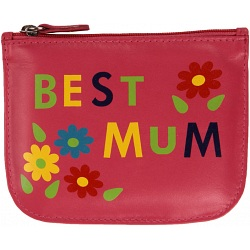 Mala Leather Best Mum Pinky leather coin purse 567-11