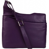 Mala Leather Anishka Leather Across Body Bag / Handbag