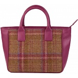Mala Leather Abertweed Leather Grab Bag / Wool Handbag