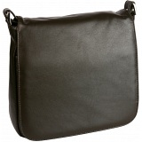 Mala Leather Large Flap Over Shoulder Bag  / Handbag