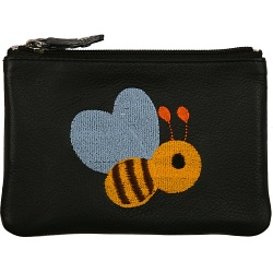 Mala Leather Pinky Purse - Lonely Bee Coin Purse