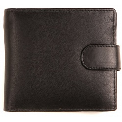 Mala Leather Origin Mens Leather Two Fold Wallet with Tab