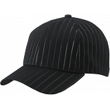 Myrtle Beach Vertical Stripe Embossed Baseball Cap
